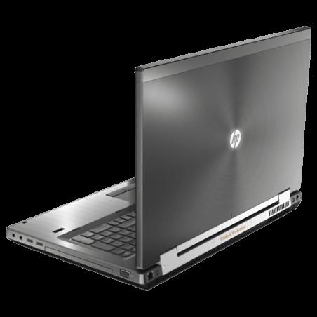 Notebook HP Elitebook 8770W Mobile Workstation - Intel Core i7-3520M - NVIDIA Quadro - RAM 4GB - HD 320GB - Windows 10.