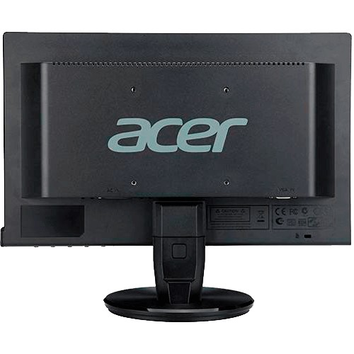"Monitor Acer P166HQL - LED 15.6"" - 16MS - 100M:1 - VGA - 60Hz - Preto"