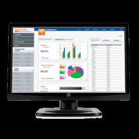 "Monitor HP V196BZ LED 18.5"" - Resolução 1366x768 - 700:1 - 200 cd/m² - Resposta 5ms - VGA"