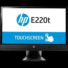 "Monitor HP EliteDisplay E220T LED 21,5"" - Touchscreen - 1920x1080 - Full HD - 3000:1 - 250 cd/m² - Resposta 8ms - 2 USB"