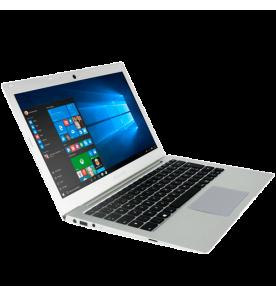 """Notebook Megaware HSW131-07, na cor prata, processador Intel Core i7-4500U de 2.4Ghz, memória RAM 4GB, HD 500GB, possui tela de 13.3"""" e Windows 10 Home."""