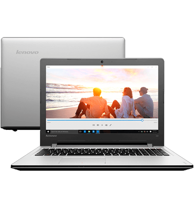 "Notebook Lenovo 300-15ISK-80RS0003BR - Intel core i7-6500U - Ram 8GB - HD 1TB - Tela 15.6"" - Windows 10"