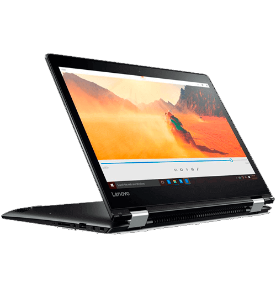 "Notebook Lenovo Yoga 510-14ISK-80UK0009BR - Intel Core i5-6200U - RAM 4GB - HD 1TB -Tela 14"" - Windows 10"