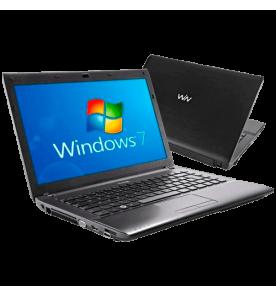 "Notebook CCE ONIX 545B+ - Intel Core i5-2410M - RAM 4GB - HD 500GB - LED 14"" - Windows 7 Home Basic"