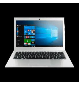 Notebook MEGAWARE com processador Intel Core i7, memória de 4GB RAM, HD de 500GB, sistema operacional Windows 10.