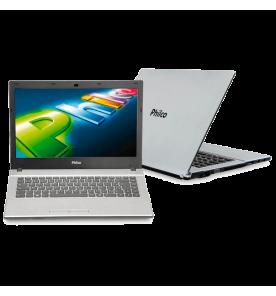 Notebook Philco 14I-S743LM - AMD Dual Core - RAM 4GB - HD 320GB - Prata - Linux