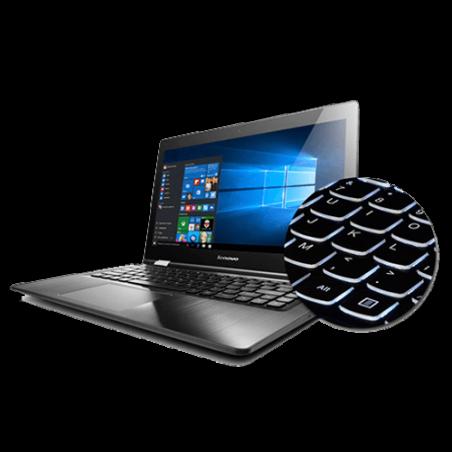 "Notebook Lenovo Yoga 500-14IBD-80NE0008BR - Intel Core i5-5200U - RAM 4GB - HD 1TB - Tela LED 14"" - Windows 10 - Preto"