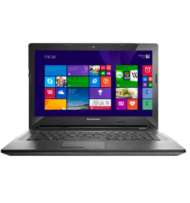 "Notebook Lenovo G40-80-80JE000BBR - Intel Core i5-5200U - RAM 4GB - HD 1TB - Tela 14"" - Windows 10 - Prata"