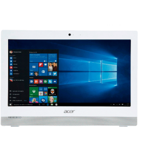 "Computador All in One Acer Z1-751-BC51 - Intel Core i3-5015U - RAM 4GB - HD 1TB - Tela LED 19,5"" - Windows 10 - Branco"