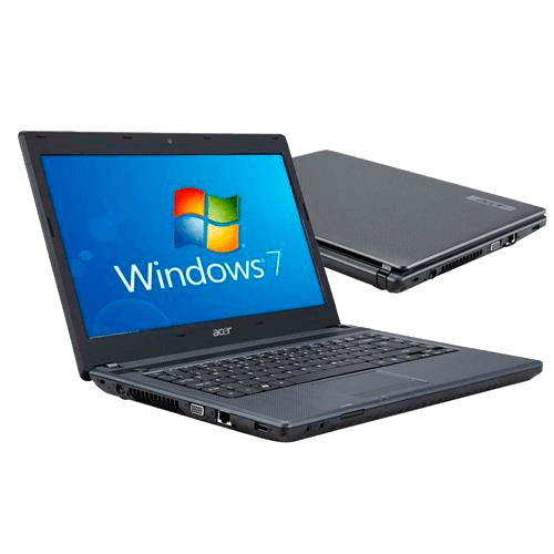 "Notebook Acer AS4739-6886 Intel Core i3 - RAM 3GB - HD 500GB - Tela 14"" - Windows 7 Home Basic"