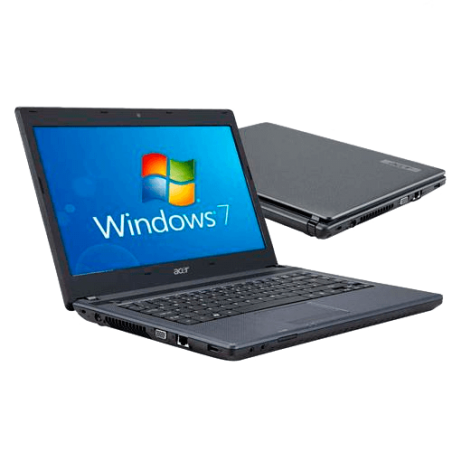 "Notebook Acer AS4739-6886 Intel Core i3 - RAM 3GB - HD 500GB - Tela 14"" - Windows 7 Home Basic"
