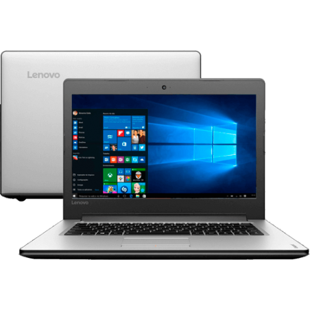 "Notebook Lenovo Ideapad - 310-14ISK - Intel Core i3-6006U - RAM 4GB - HD 1TB - Tela 14"" - Windows 10."