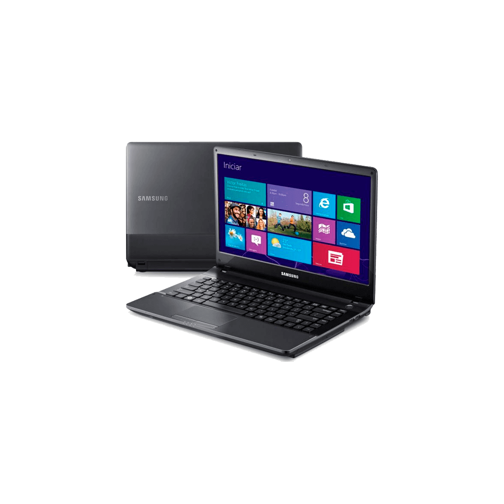 "Notebook Samsung NP300E4C-AD5BR - Intel Core i5-3210M - RAM 4GB - HD 500GB - Tela 14"" - Windows 8"