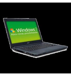 "Notebook Acer AS4749-6822 - Intel Core i3 - RAM 2GB - HD 320GB - Tela 14"" - Windows 7"