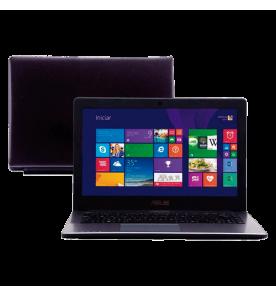 "Notebook Asus X450CA-BRAL-WX232H - Intel Core i5-3317U - RAM 6GB - HD 500GB - LED 14"" - Windows 8"