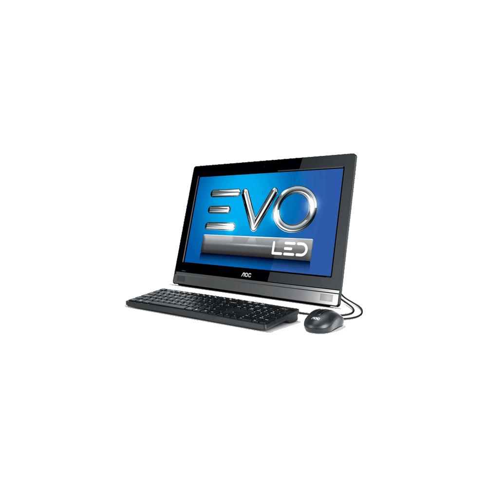 """Computador All In One EVO AOC 20C45U-W81SL - Quad Core J2900 - RAM 4GB - HD 500GB - Tela 19,5"""" - Windows 8.1"""