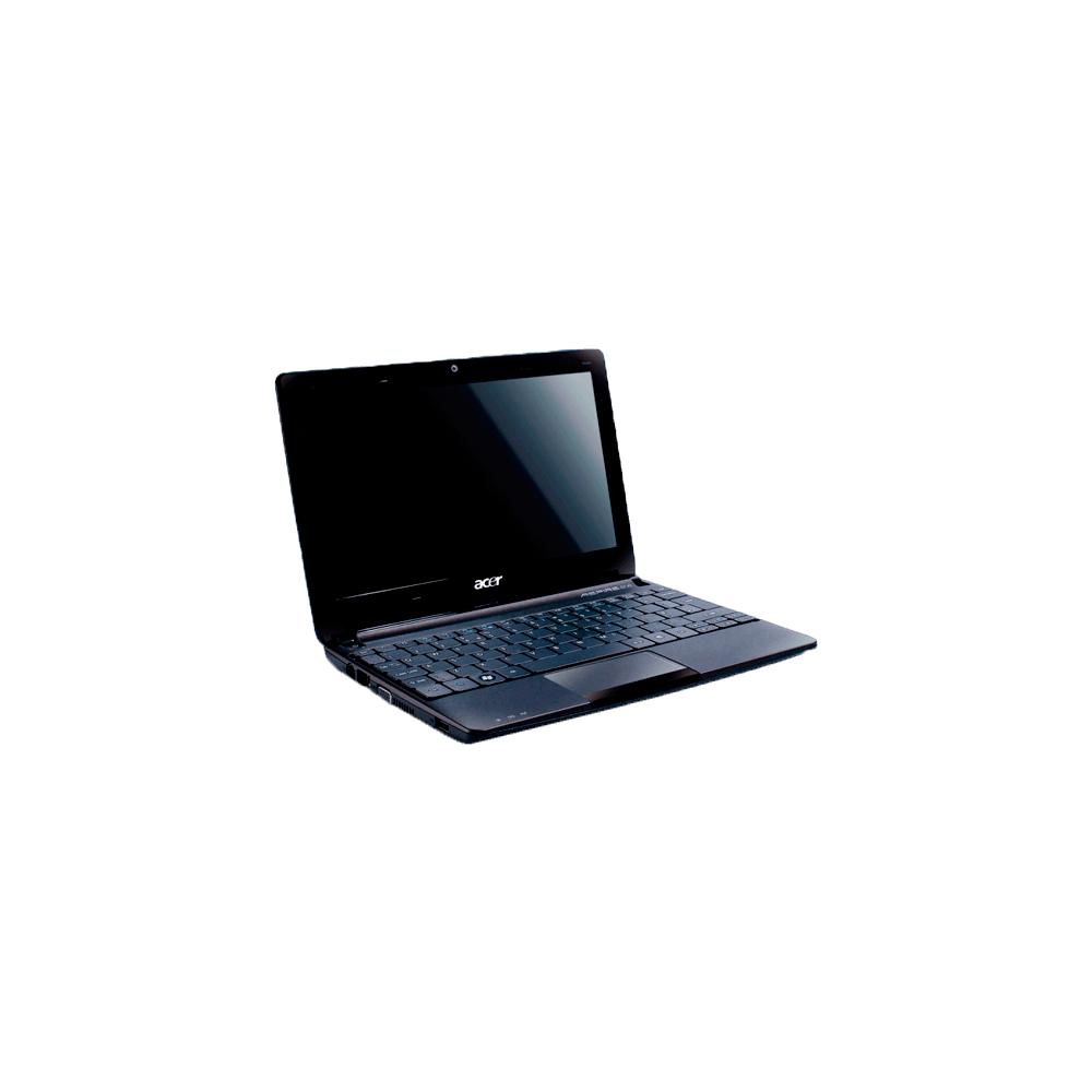 "Notebook Acer Aspire One D257-N57DQKK- Intel Atom N570 - 1GB RAM - 320GB HD - Windows 7 Starter - Tela LED 10.1"" - Preto"