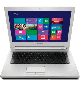 "Notebook Lenovo Z40-70-80E60008BR Branco Intel Core i5-4200U NVIDIA GeForce 840M 2GB - RAM 6GB - HD 1TB - Tela 14"" Windows 10"
