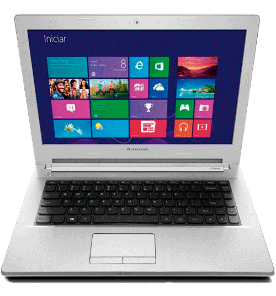 "Notebook Lenovo Z40-70-80E60008BR Branco Intel Core i5-4200U NVIDIA GeForce 840M 2GB - RAM 6GB - HD 1TB - Tela 14"" Windows 10"