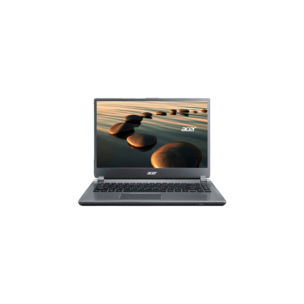 "Ultrabook Acer Prata M5-481T-6417 - Intel Core i5-3317UB - Ram 6 GB - HD 500GB - Tela LED 14"" - Windows 8"
