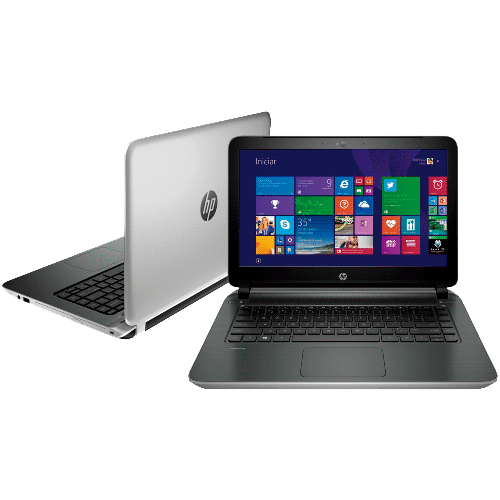"Notebook HP Pavilion 14-N020BR - Intel Core i5-4200U - RAM 4GB - HD 500GB - LED 14"" - Windows 8"