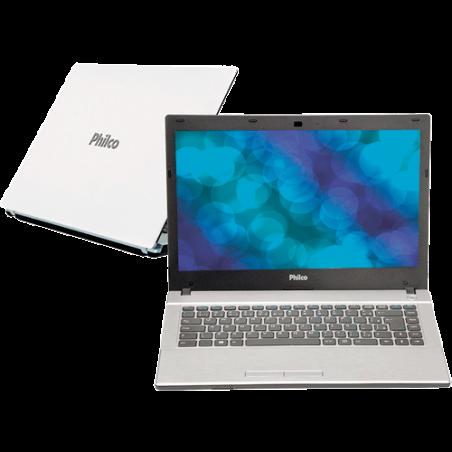 """Notebook Philco 14G2-B123LM - Atom Dual Core D2500 - HD 320GB - RAM 2GB - Tela 14"""" - Branco - Linux"""