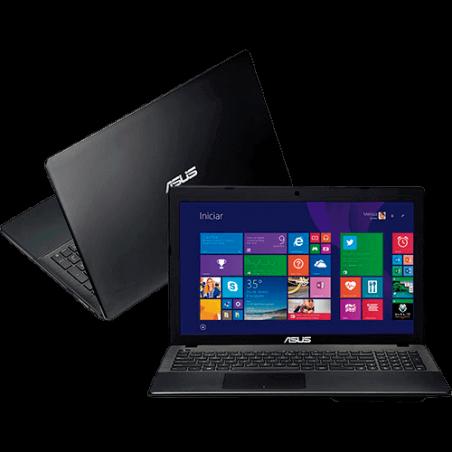 "Notebook Asus X552EA-SX229H Preto - AMD E1-2100 - RAM 2GB - HD 500GB - LED 15.6"" - Windows 8"
