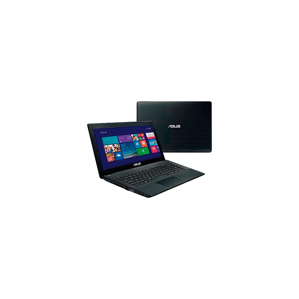 "Notebook Asus X451MA-BRAL-VX031H - HD 500GB - RAM 2GB - Intel Celeron Dual Core - LED 14"" - Windows 8"