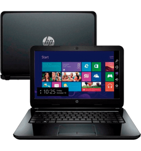 "Notebook HP 14-R051BR - Intel Core i3-4005U - RAM 4GB - HD 500GB - LED 14"" - Windows 8"