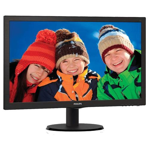 "Monitor Philips LED 20"" - Widescreen - HD - 206V3LSB"