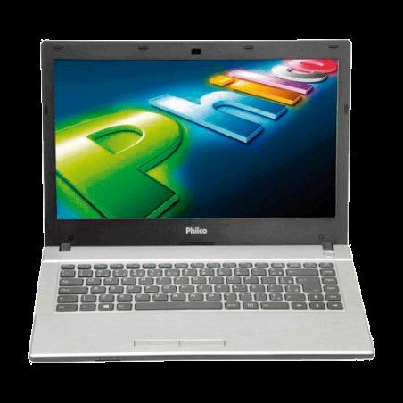 """Notebook Philco 14G-P744LM Processador AMD -  RAM 4GB - HD 320GB - Preto - 14"""" - Linux"""