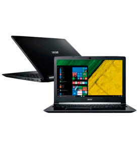 "Notebook Acer A515-51G-58VH - Intel core i5 7200U/H22 - 8GB - NVIDIA 2GB - 1TB - Tela 15.6"" - Windows 10"