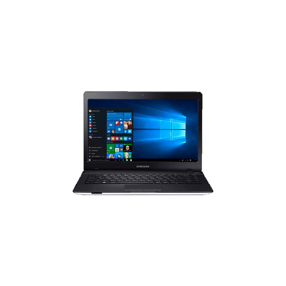 "Notebook Samsung Essentials E32 NP370E4K-KW4BR - Intel Core i3-5005U - RAM 4GB - HD 1TB - Tela 14"" - Windows 10"