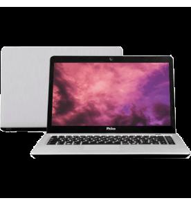 "Notebook Philco 14G-P144LM Processador AMD - RAM 4GB - HD 320GB - Prata - 14"" - Linux"