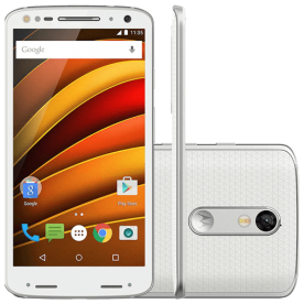 Smartphone Motorola Moto X Force XT1580 - 64GB - 3GB - 4G - Dual Chip - 20MP - Branco - Android 5.1