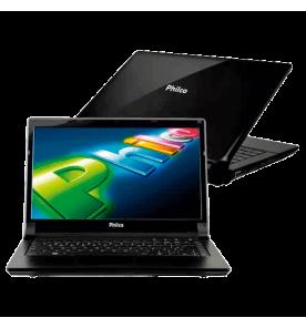 Notebook Philco 14D-R744WB - Dual Core - 4GB - 500GB - Preto - Windows 7 Home Basic