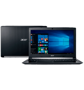 Notebook Acer A1515-51-52CT - Intel core i5-7200U/H22 - RAM 4GB - HD 1TB - Windows 10 - Preto - LED 15.6""