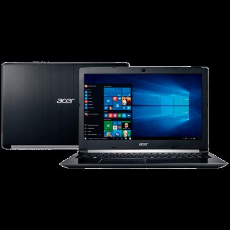 "Notebook Acer A1515-51-52CT - Intel core i5-7200U/H22 - RAM 4GB - HD 1TB - Windows 10 - Preto - LED 15.6"""