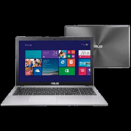 Notebook Asus X550CA-BRA-XX500H - Intel Core i3-2365M - RAM 2GB - HD 500GB - LED de 15.6'' - Windows 8
