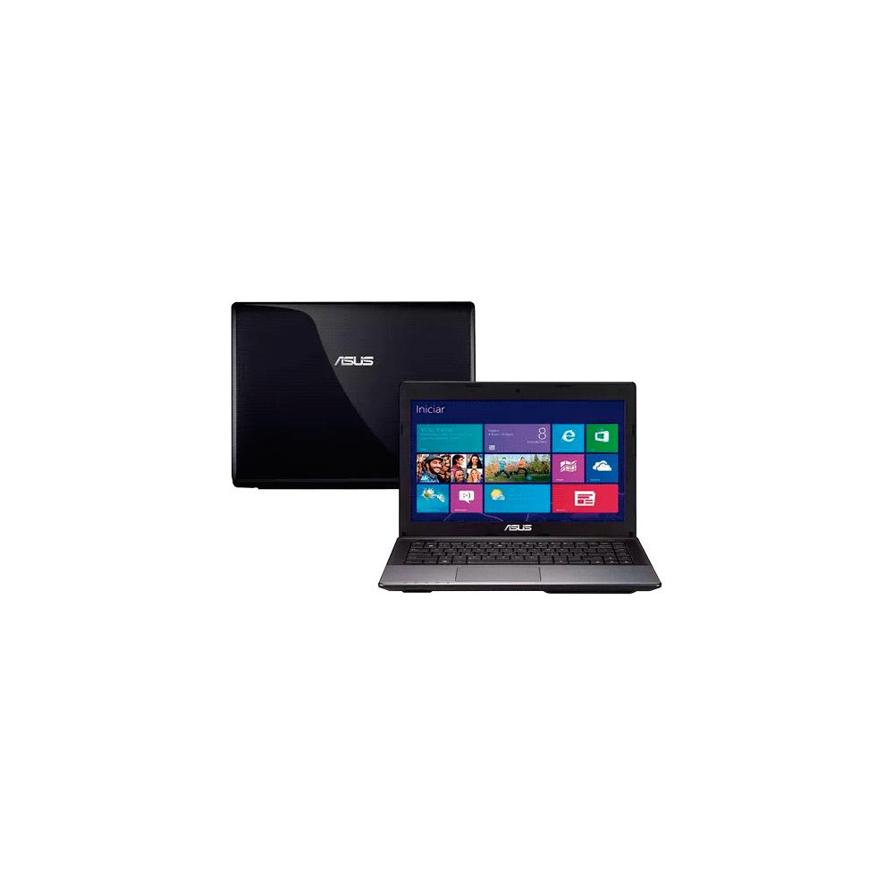 "Notebook Asus X45C-VX006H - Intel Core i3-3110M - RAM 6GB - HD 500GB - LED 14"" - Windows 8"