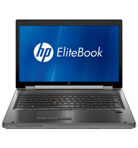 "Notebook HP Elitebook 8760W - Intel Core i7-2620M - RAM 4GB - HD 320GB - Tela 17.3"" - Windows 10"