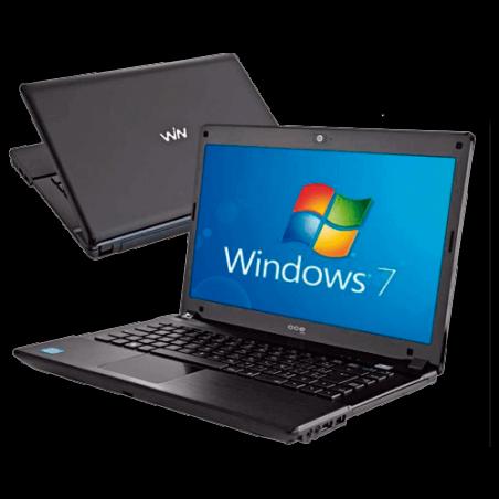 "Notebook CCE Onix-546BE+ - Preto - Intel Core I5 - RAM 4GB - HD 500GB - Tela 14"" - Windows 7 Home Basic"