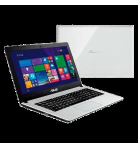 "Notebook Asus Branco X450CA-BRAL-WX144H - HD 500GB - RAM 4GB - Intel Core i3-2365M - LED 14"" - Windows 8"