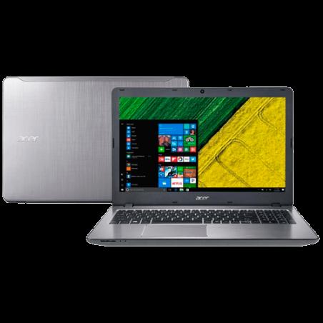 "Notebook Acer F5-573G-50KS Prata - Intel Core i5 7200U - 1 TB HD - 8GB RAM - Placa NVIDIA 2GB - Windows 10 Home - Tela LED 15.6"""