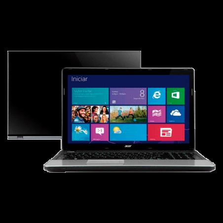 Notebook Acer E1-571-6874 - 15.6'' - Intel Core i3 - Ram 4GB - HD 500GB - Windows 7 Home Basic