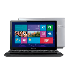"Notebook Gateway Acer NE57007B - Intel Core i5-3337U - RAM 4GB - HD 1TB - LED 15.6"" - Windows 8"