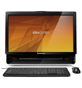 "Desktop Lenovo Idea Centre B300 - Intel Celeron E3400 - RAM 2GB - HD 500GB - 21.5"" - Preto - Windows 7 Starter"
