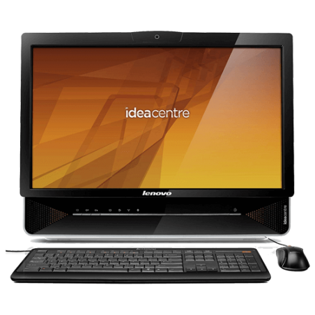 "Desktop Lenovo Idea Centre B300 - Intel Celeron E3400 - RAM 2GB - HD 500GB - 21.5"" - Preto - Windows 7 Starter"