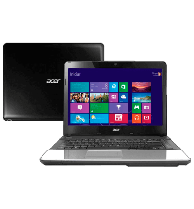 "Notebook Acer E1-471-6613 Intel Core i3-2328M - RAM 2GB - HD 500GB - 14"" Windows 8"