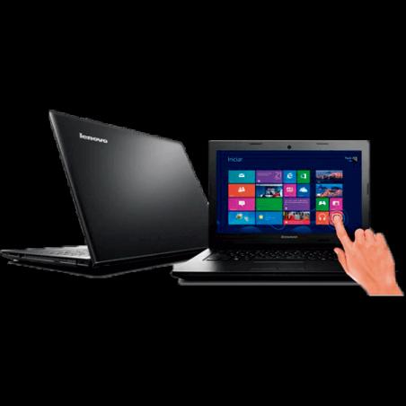 "Notebook Lenovo G400s-80AU0000BR - HD 500GB - RAM 4GB - Intel Celeron 1005M - LED 14"" - Touchscreen - Windows 8"